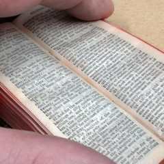 Miniature Bible, 19th Century