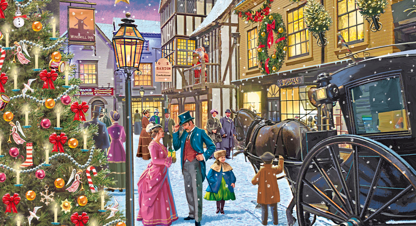 Christmas at York Castle Museum