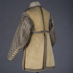 Back view of cavalryman's buff coat